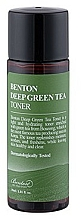 Parfüm, Parfüméria, kozmetikum Arctonik - Benton Deep Green Tea Toner (mini)