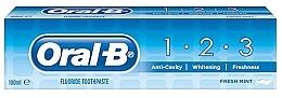 Parfüm, Parfüméria, kozmetikum Fogkrém - Oral B 1-2-3 Fresh Mint Toothpaste