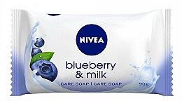 """Parfüm, Parfüméria, kozmetikum Hidratáló szappan """"Áfonya és tej"""" - Nivea"""