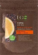 "Parfüm, Parfüméria, kozmetikum Testradír ""Kávé és narancs"" - ECO Laboratorie Body Scrub Coffee & Orange"