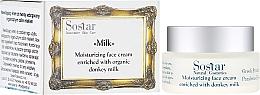 Parfüm, Parfüméria, kozmetikum Hidratáló arckrém - Sostar Moisturizing Face Cream Enriched With Donkey Milk