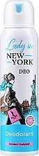 Parfüm, Parfüméria, kozmetikum Dezodor - Lady In New York Deodorant
