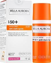 Parfüm, Parfüméria, kozmetikum Napvédő arcfluid - Bella Aurora Anti-Manchas Treatment SPF50+