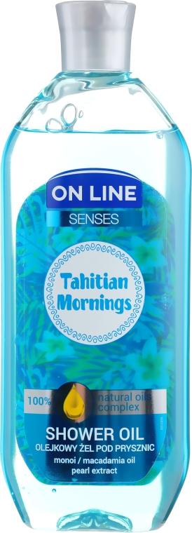 Tusfürdő olaj - On Line Senses Shower Oil Tahitian Morning