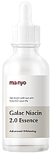 Parfüm, Parfüméria, kozmetikum Megerősített esszencia galactomyces és niacinamid kivonatokkal - Manyo Galac Niacin 2.0 Essenc