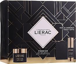 Parfüm, Parfüméria, kozmetikum Készlet - Lierac Premium Soyeuse (eye/cr/15ml + cr/50ml + bag)