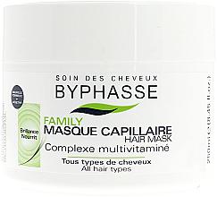 Parfüm, Parfüméria, kozmetikum Hajmaszk multivitamin komplexummal - Byphasse Family Multivitamin Complexe Mask