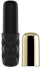 Parfüm, Parfüméria, kozmetikum Mini vibrátor, fekete-arany - Satisfyer Mini Lovely Honey
