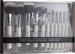 Parfüm, Parfüméria, kozmetikum Ecset készlet - Nanshy Masterful Collection Pearlescent White (Brush/12db)