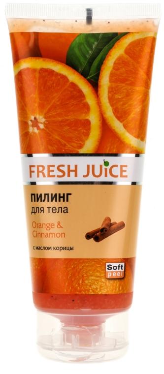 """Testradír """"Narancs és Fahéj"""" - Fresh Juice Orange & Cinnamon"""
