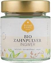 Parfüm, Parfüméria, kozmetikum Bio fogpor gyömbérrel - Eliah Sahil