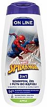 Parfüm, Parfüméria, kozmetikum Sampon gél és fürdőhab 3 az 1-ben alma illattal - On Line Kids Disney Spiderman