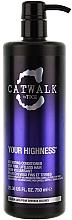 Parfüm, Parfüméria, kozmetikum Dúsító hajkondicionáló - Tigi Catwalk Volume Collection Your Highness Nourishing Conditioner