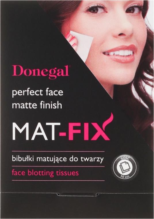 Mattító arcápoló kendő - Donegal Face Blotting Tissues Mat-Fix