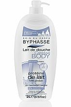 """Parfüm, Parfüméria, kozmetikum Tusolókrém """"Tejfehérje"""" - Byphasse Caresse Shower Cream"""