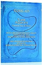 Parfüm, Parfüméria, kozmetikum Maszk-tapasz szemkörnyékre - Guerlain Super Aqua-Eye Anti-Puffness Smoothing Eye Patch