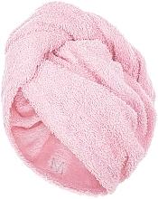 Parfüm, Parfüméria, kozmetikum Hajszárító törölköző sapka, halvány rózsaszín - MakeUp