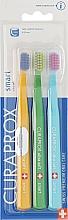 """Parfüm, Parfüméria, kozmetikum Gyerek fogkefe készlet """"Smart"""", narancssárga, zöld, világoskék - Curaprox"""