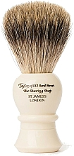 Parfüm, Parfüméria, kozmetikum Borotvapamacs, P2235 - Taylor of Old Bond Street Shaving Brush Pure Badger size L