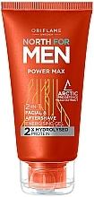 Parfüm, Parfüméria, kozmetikum Borotválkozó gél 2 az 1 -ben - Oriflame North for Men Power Max