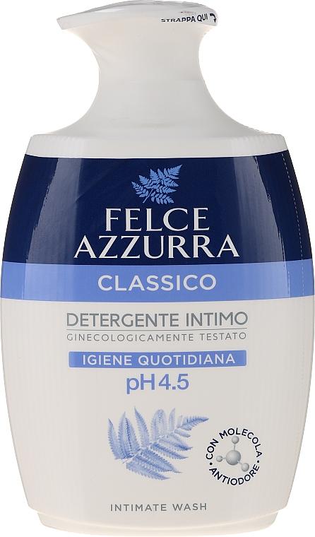 """Folyékony gyengéd intim mosakodó szappan """"Classic"""" - Felce Azzurra Classic Intimate Wash"""