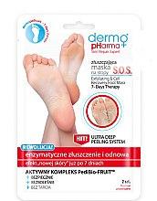 Parfüm, Parfüméria, kozmetikum Lábápoló maszk és peeling - Dermo Pharma Skin Repair Expert S.O.S. Exfoliating & Cell Recovery Foot Mask