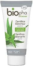 Parfüm, Parfüméria, kozmetikum Fehérítő fogkrém mentollal - Biopha Nature Toothpaste Menthe