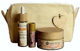 Parfüm, Parfüméria, kozmetikum Készlet - Shy Deer Zero Waste Set (elixir/30ml+body/butter/100ml+lip/butter/12ml+bag)
