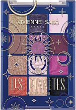 Parfüm, Parfüméria, kozmetikum Szemhéjfesték paletta - Vivienne Sabo Les Planetes Eyeshadow Palette