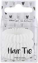 Parfüm, Parfüméria, kozmetikum Hajgumik, fehér - Cosmetic 2K Hair Tie White