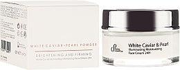 Parfüm, Parfüméria, kozmetikum Bőrélénkítő krém arcra - Sayaz Cosmetics White Caviar Illuminating Moisturizing Face Cream 24H
