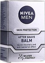 """Parfüm, Parfüméria, kozmetikum Borotválkozás utáni balzsam """"Ezüst védelem"""" - Nivea For Men Silver Protect After Shave Balm"""