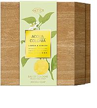 Parfüm, Parfüméria, kozmetikum Maurer & Wirtz 4711 Aqua Colognia Lemon & Ginger - Szett (col 170ml + soap/100g)