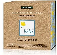 Parfüm, Parfüméria, kozmetikum Szett - Klorane Bebe (wash gel/200ml + cr/40ml)