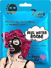 Parfüm, Parfüméria, kozmetikum Arcmaszk - 7 Days Total Black Moisture Real Water Boom