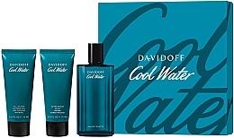 Parfüm, Parfüméria, kozmetikum Davidoff Cool Water - Szett (edt/125ml + sh/gel/75ml + ash/balm/75ml)