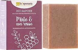"""Parfüm, Parfüméria, kozmetikum Bio szappan """"Mirtusz és szőlő"""" - La Saponaria Bio Sapone"""