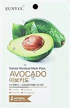 Parfüm, Parfüméria, kozmetikum Hidratáló szövet arcmaszk avokádóval - Eunyul Natural Moisture Mask Pack Avocado