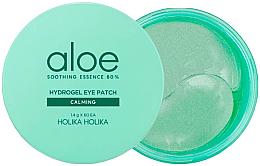 Parfüm, Parfüméria, kozmetikum Nyugtató hidrogél szem alatti tapasz - Holika Holika Aloe Soothing Essence 80% Hydrogel Eye Patch