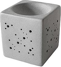 Parfüm, Parfüméria, kozmetikum Kocka aromalámpa, szürke - Flagolie By Paese Cube Fireplace Grey
