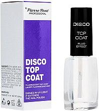 Parfüm, Parfüméria, kozmetikum Fluoreszkáló fedőlakk - Pierre Rene Disco Top Coat Fluo Effect