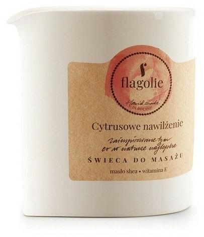 """Masszázsgyertya """"Citrus hidratálás"""" - Flagolie Citrus Hydration Massage Candle — fotó N1"""