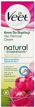 Parfüm, Parfüméria, kozmetikum Szőrtelenítő krém szőlőmag olajjal - Veet Natural Inspirations
