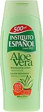 Parfüm, Parfüméria, kozmetikum Hidratáló testápoló aloe verával - Instituto Espanol