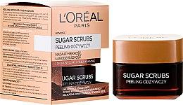 Parfüm, Parfüméria, kozmetikum Tápláló arcradír - L'Oreal Paris Sugar Scrubs