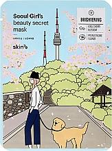 Parfüm, Parfüméria, kozmetikum Arcbőr élénkítő szövetmaszk - Skin79 Seoul Girl's Beauty Secret Mask Brightening