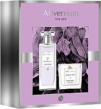 Parfüm, Parfüméria, kozmetikum Allvernum Iris & Patchouli - Szett (edp/50ml + candle/100g)
