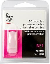 """Parfüm, Parfüméria, kozmetikum Univerzáls műköröm tip """"№1"""", 50 db - Peggy Sage Tips"""