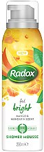 Parfüm, Parfüméria, kozmetikum Tusoló hab - Radox Feel Bright Mango & Mandarin Scent Shower Mousse