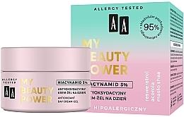 Parfüm, Parfüméria, kozmetikum Antioxidáns nappali krém-gél arcra - AA My Beauty Power Niacynamid 5% Antioxidant Day Cream-Gel